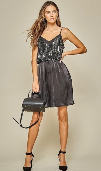 Sparkle and Shine Dress Black