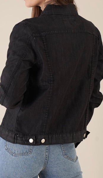 Amelius Vintage Denim Jacket Black