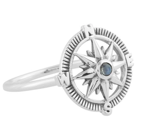 Guiling Light Compass Ring