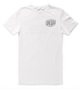 Deus Ex Machina Venice Address Tee (White)