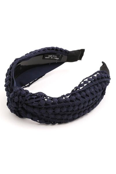 HA034 Headband Navy