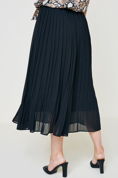 Pleats Please Midi Skirt Black