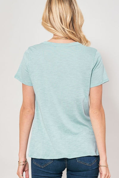 Dream Love Tee Dusty Mint