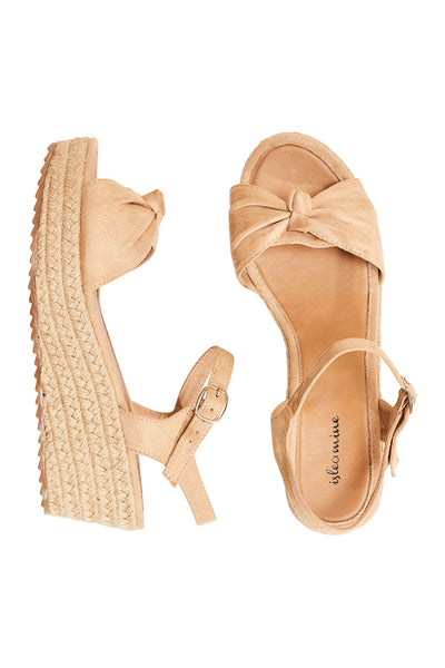 Isle of Mine Riviera Wedge Beige