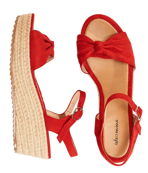 Isle of Mine Riviera Wedge Red
