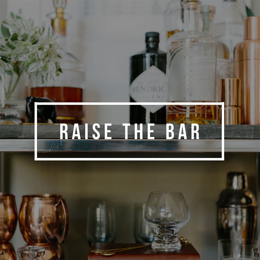 Curate a Bar Cart He (and She) Will Love