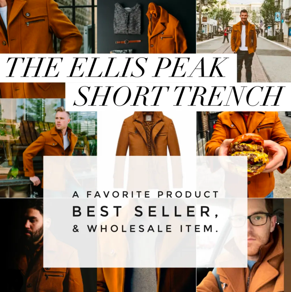 The Ellis Peak - A Best Seller & Newly Available For Wholesale