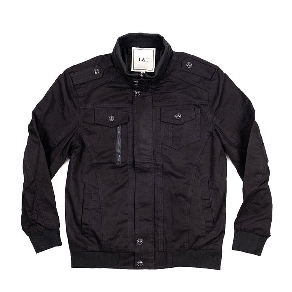 The Aberdeen Jacket Black