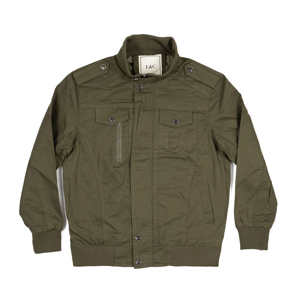 The Aberdeen Jacket Olive