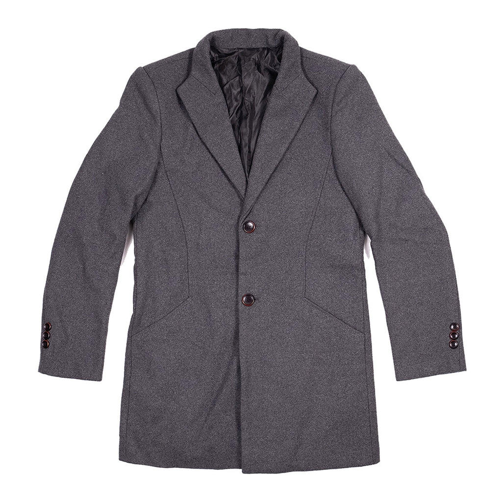 The Bellevue Topcoat Gray