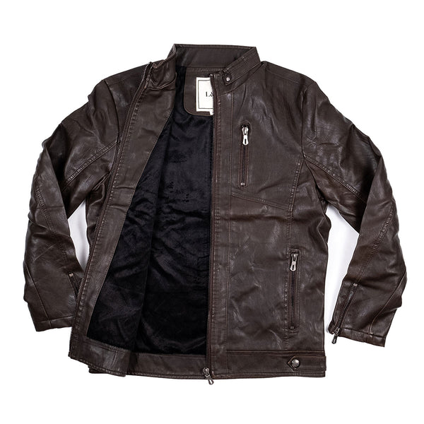 The Cafe Jacket Brown