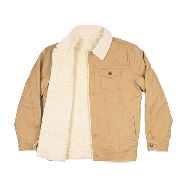 The Easton Trucker Jacket Khaki