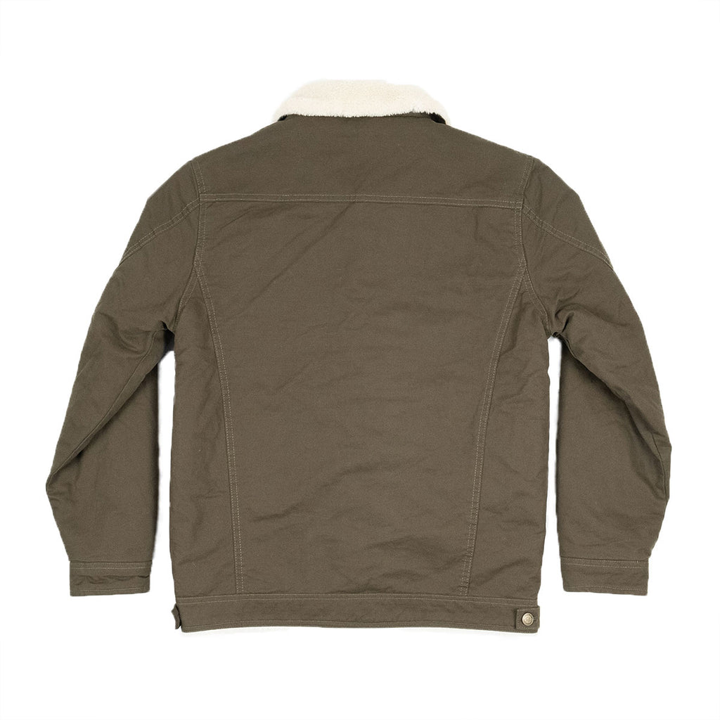 The Easton Trucker Jacket Olive