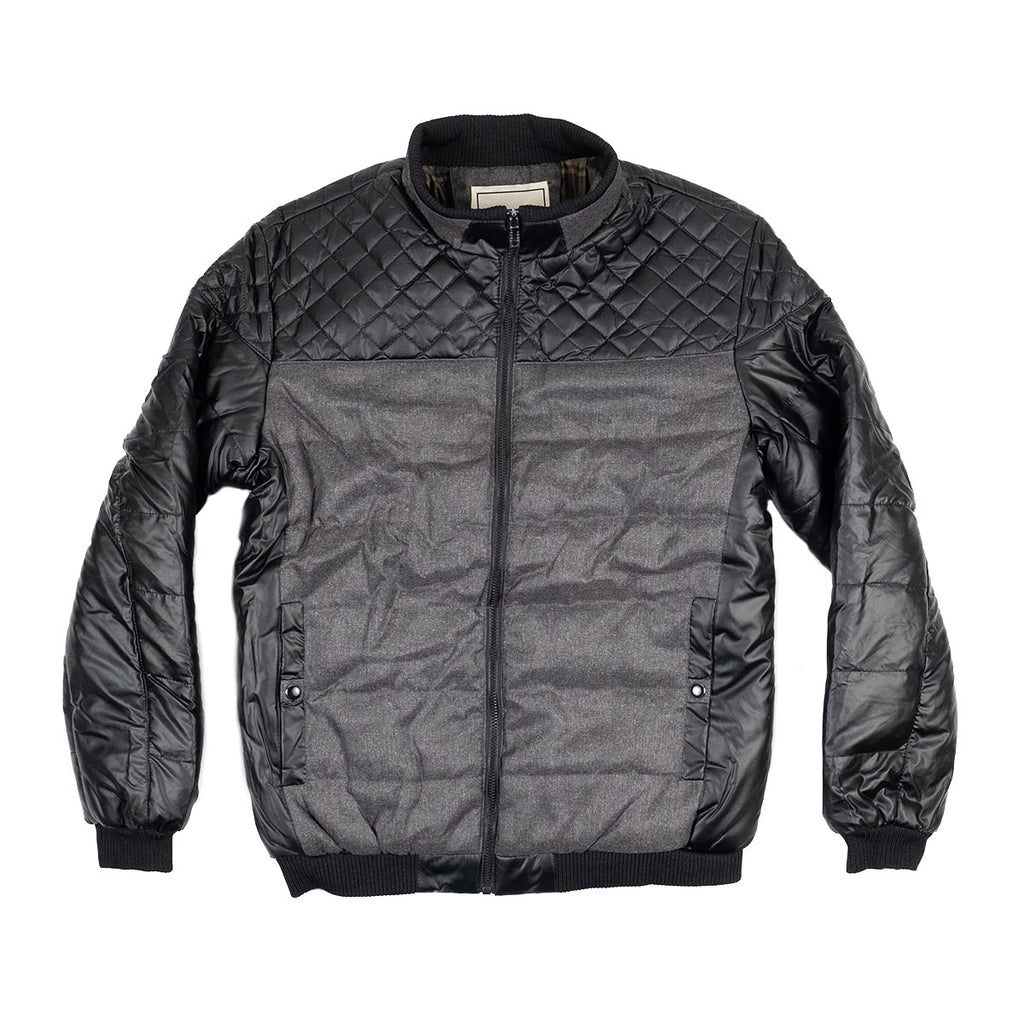 The Montreal Puffer Coat Gray