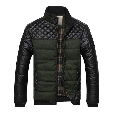 The Montreal Puffer Coat Dark Green