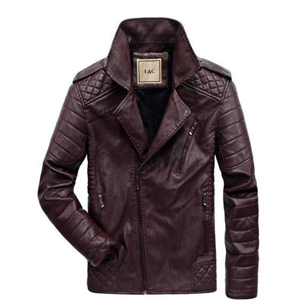 The Scrambler Jacket Burgundy