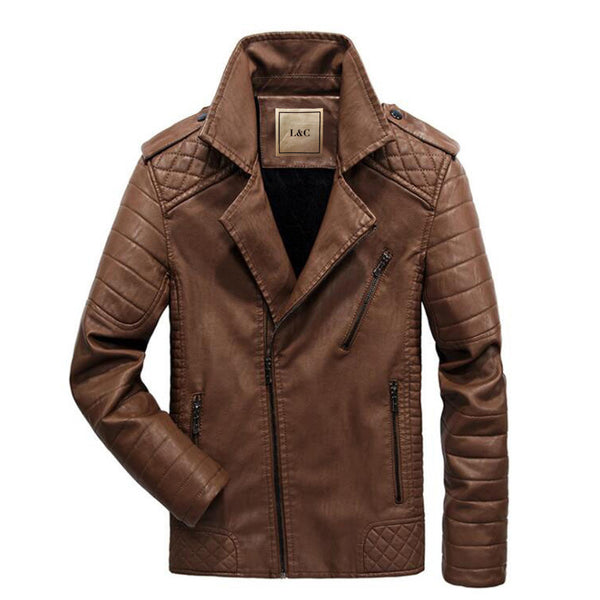 The Scrambler Jacket Tan