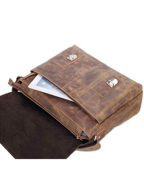 Bags - Leather Messenger Bag