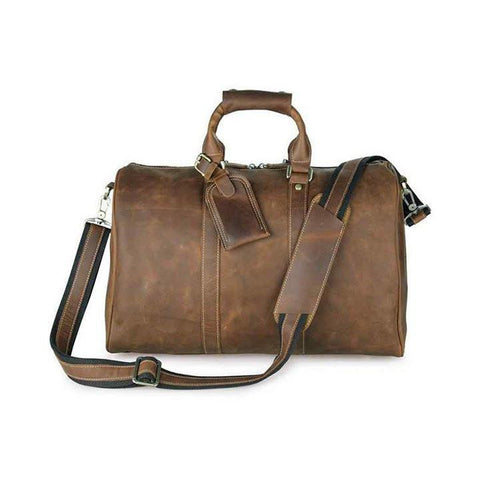 Bags - Leather Weekender Bag