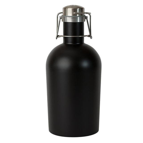 Barware - Black Stainless Steel Growler