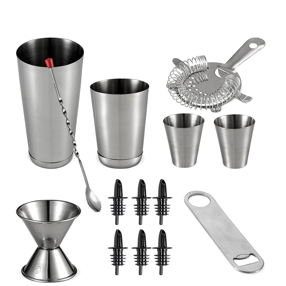 Barware - Stainless Steel Cocktail Shaker Set