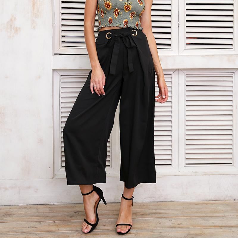 Bottoms - Loose Capri Pants