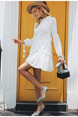 Dresses - White Boho Chic Dress
