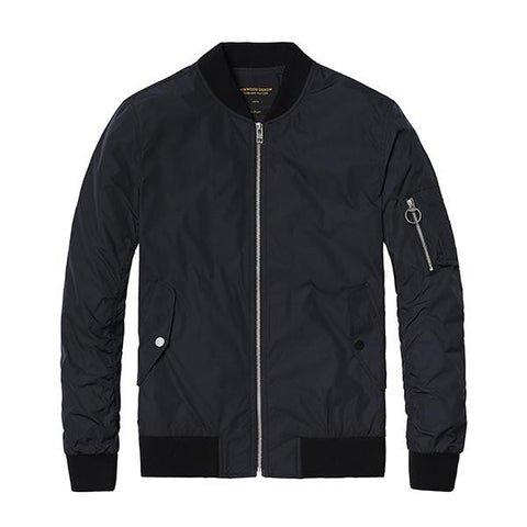 Jackets - Spring Weight Bomber Jacket