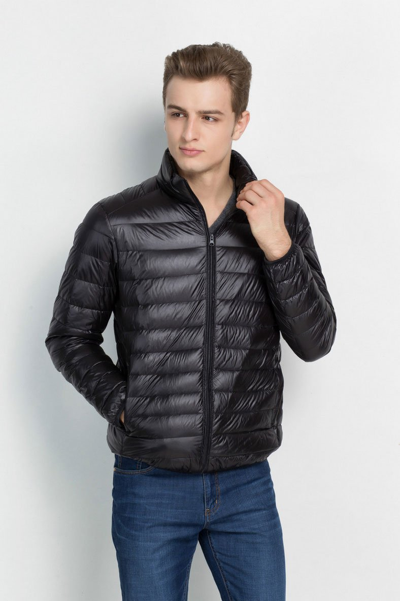Outerwear - Classic Puffer Jacket Black