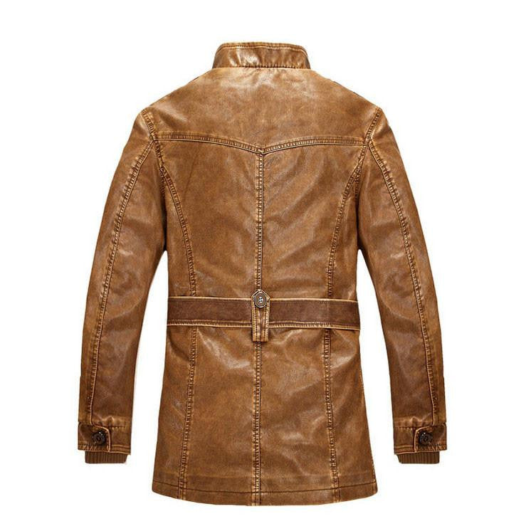 Outerwear - The Apex Mandarin Short Trench Tan