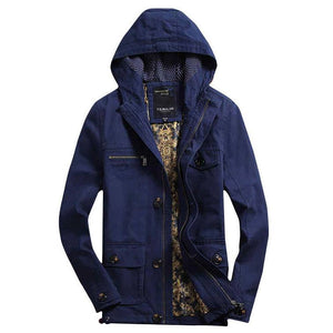 The Fillmore Coat Blue