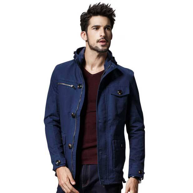 Outerwear - The Fillmore Coat Blue