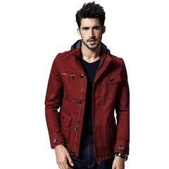 Outerwear - The Fillmore Coat Red