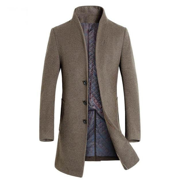 Outerwear - The Thompson Wool Topcoat Tan