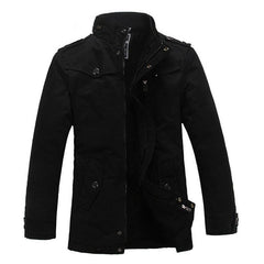 Outerwear - The Woods Coat Black