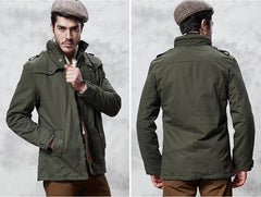 Outerwear - The Woods Coat Olive