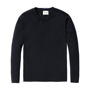Basic Long Sleeve Tee Black