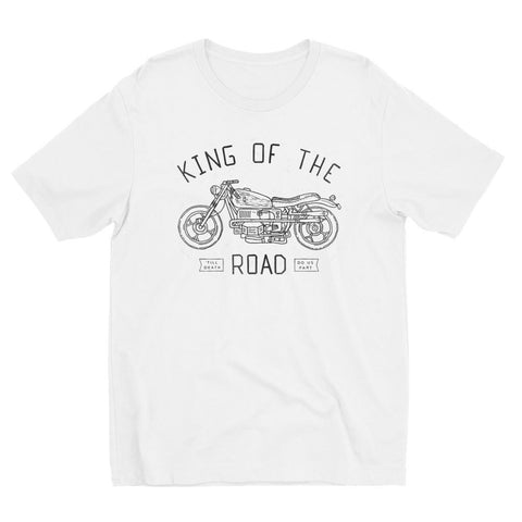 T-Shirts - King Of The Road Tee White