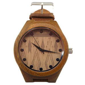 Bamboo Watch w/ Pattern