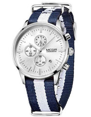 Watches - The Emery Watch White And Navy