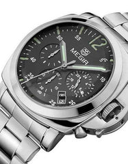Watches - The Hillsboro Steel Link Watch