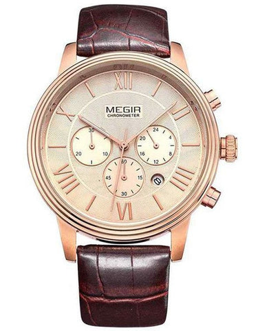 Watches - The Rochester Leather Watch