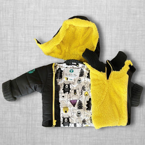 Beary Best Hugs Buckle Me Baby Coat - front