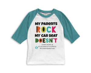 My Parents Rock My Car Sear Doesn't Child's Raglan T-shirt