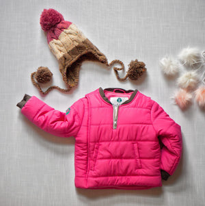 2019-Power of Pink Buckle Me Baby Coat - front