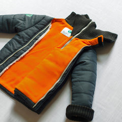 Night Rider Buckle Me Baby Coat - inside