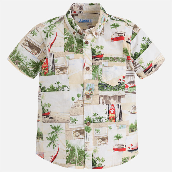 Beach Two-in-one Shirt
