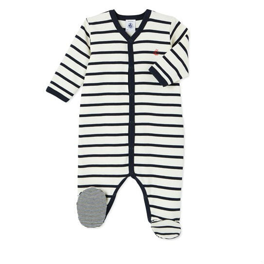 Navy Striped Sleeper