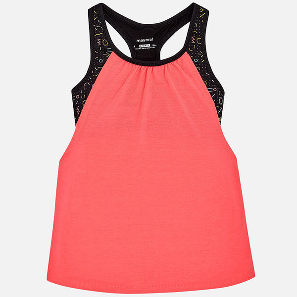 Pink/Black Active Wear