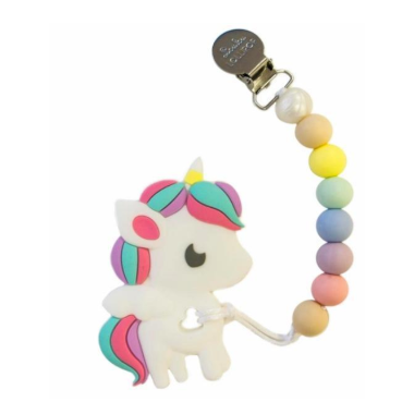 Unicorn Silicone Teether